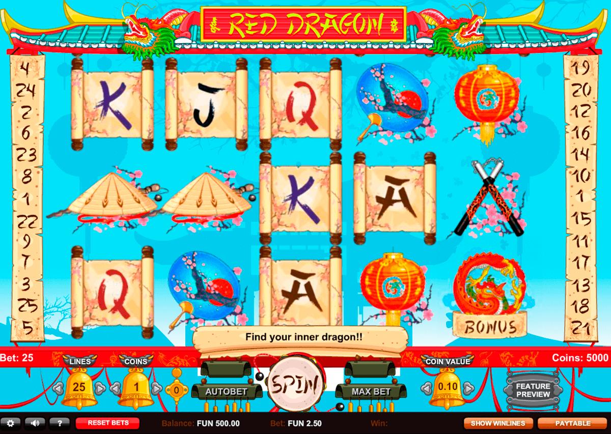 red dragon gaming gokkast