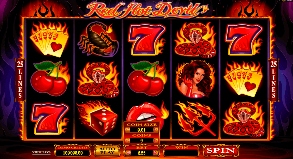 online casino red