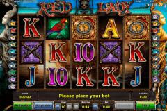 red lady novomatic gokkast