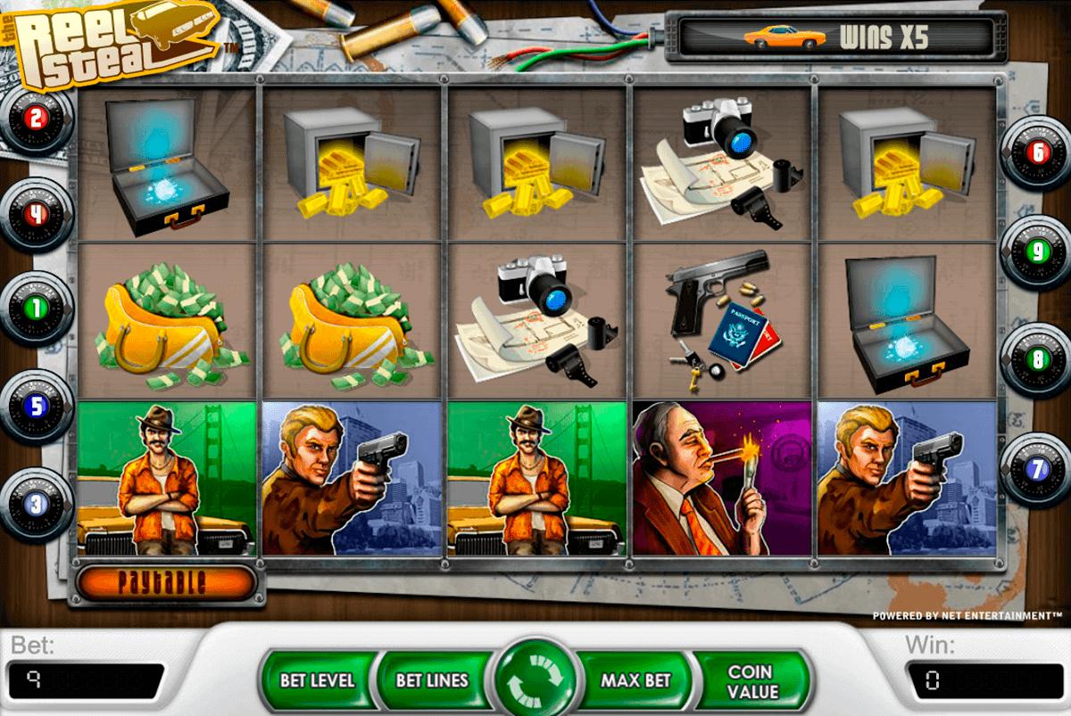reel steal netent gokkasten