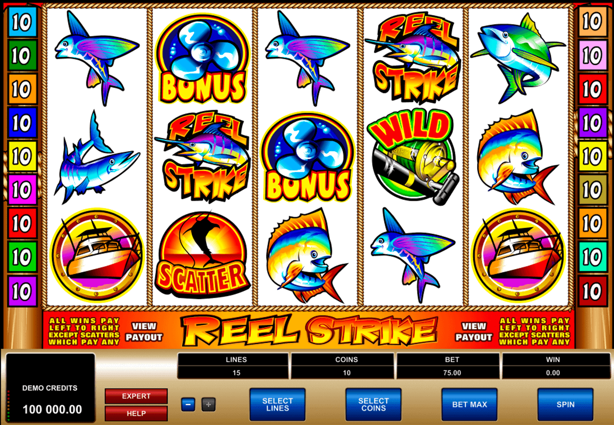 reel strike microgaming gokkast