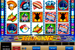 reel thunder microgaming gokkast
