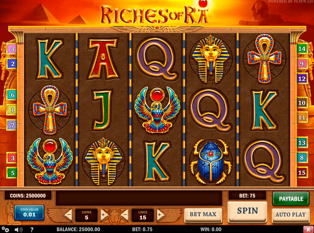 beste online casinos mit book of ra