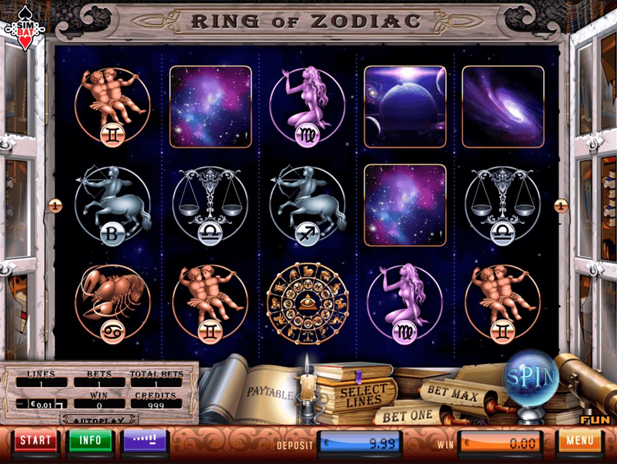 ring of zodiac simbat gokkast