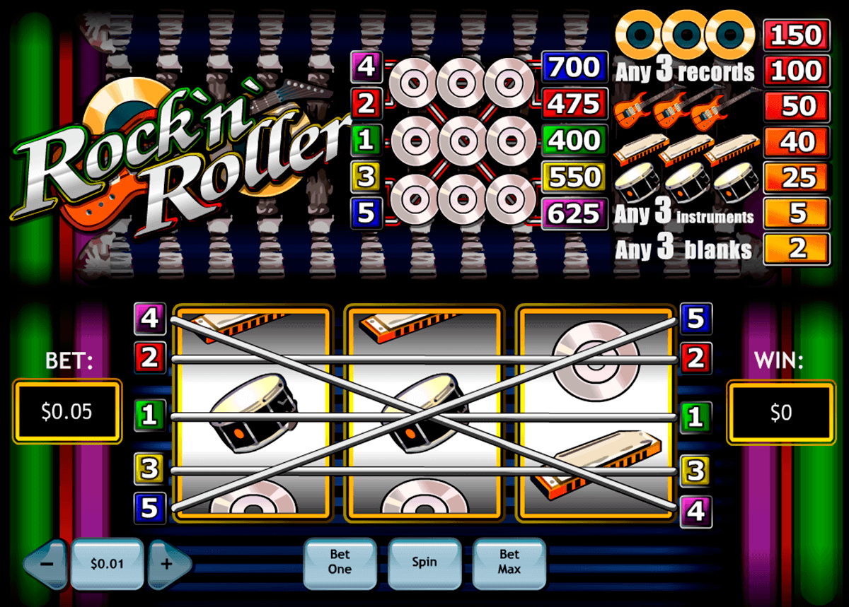 rocknroller playtech gokkast