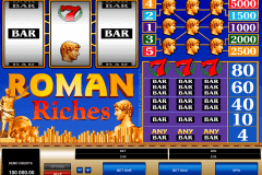 roman riches microgaming gokkast