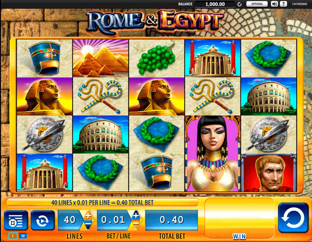 rome egypt wms gokkast