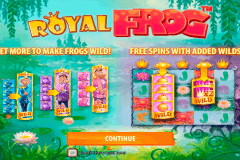 royal frog quickspin gokkast