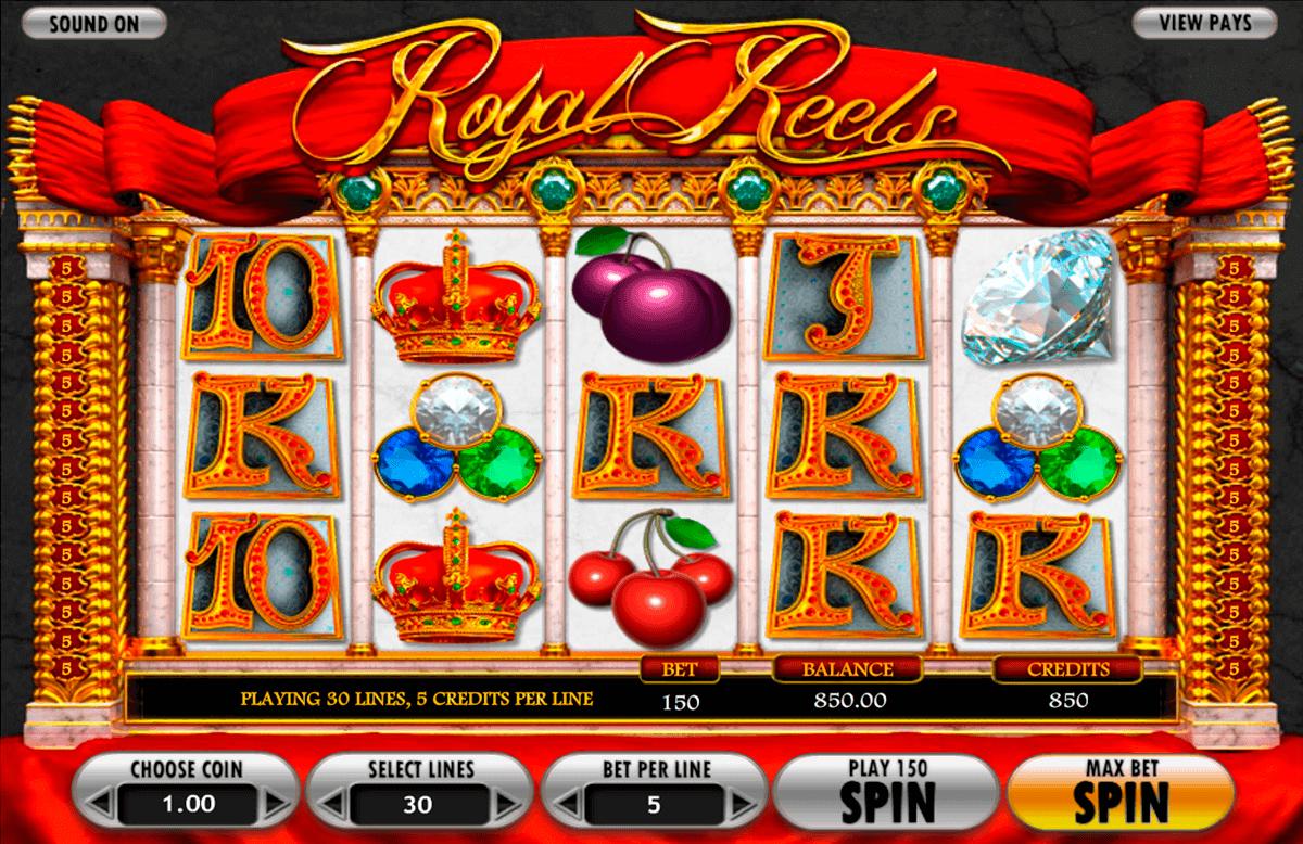 royal reels betsoft gokkasten
