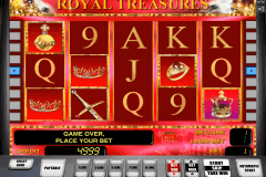 royal treasures novomatic gokkast