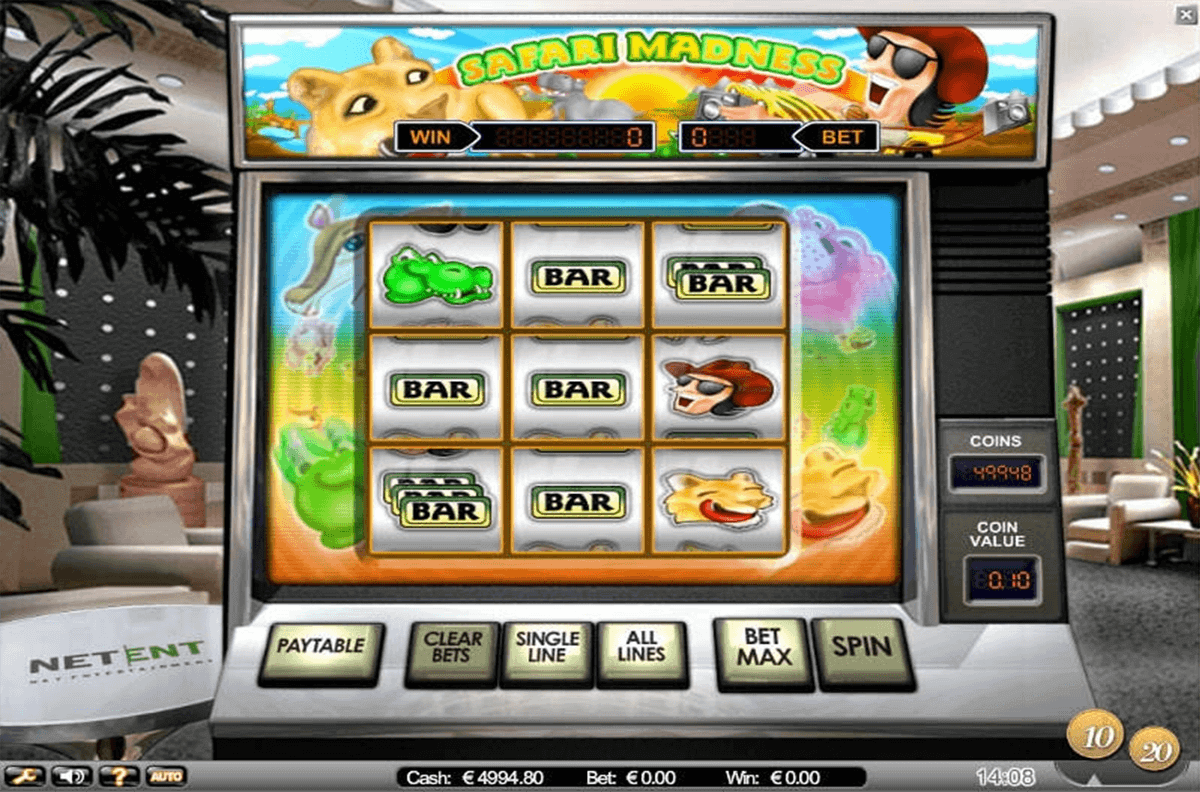 Safari Madness Slot Machine Online ᐈ NetEnt™ Casino Slots