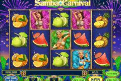 samba carnival playn go gokkast
