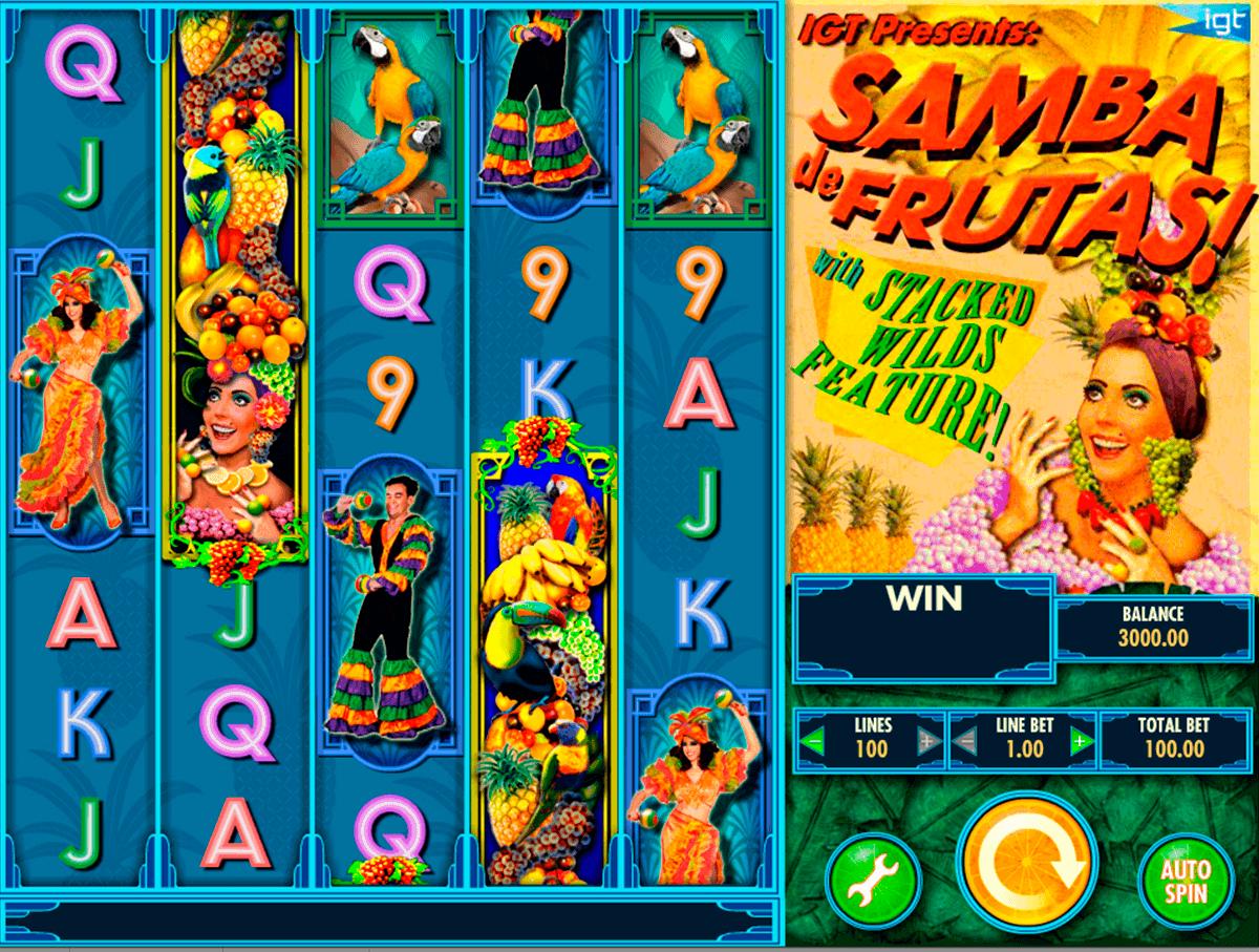 samba de frutas igt gokkast