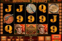 sherlock mystery playtech gokkast
