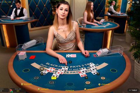 silver vip live blackjack evolution gaming