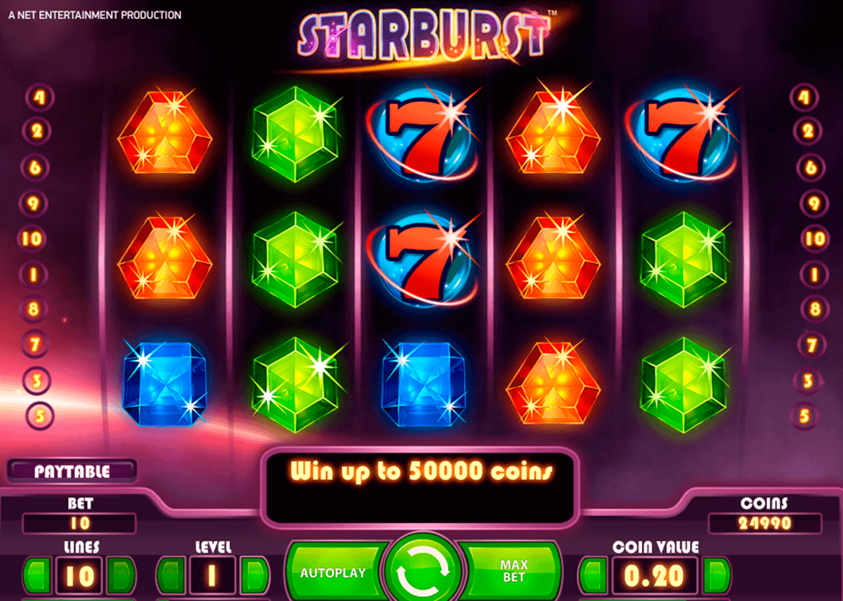casino de online starbrust