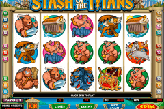 stash of the titans microgaming gokkast