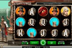 steam tower netent gokkasten