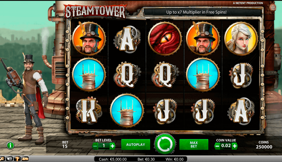 Steam Tower Slot - NetEnt Casino - Rizk Online Casino Deutschland