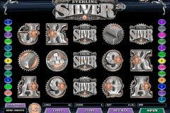 sterling silver d microgaming gokkast