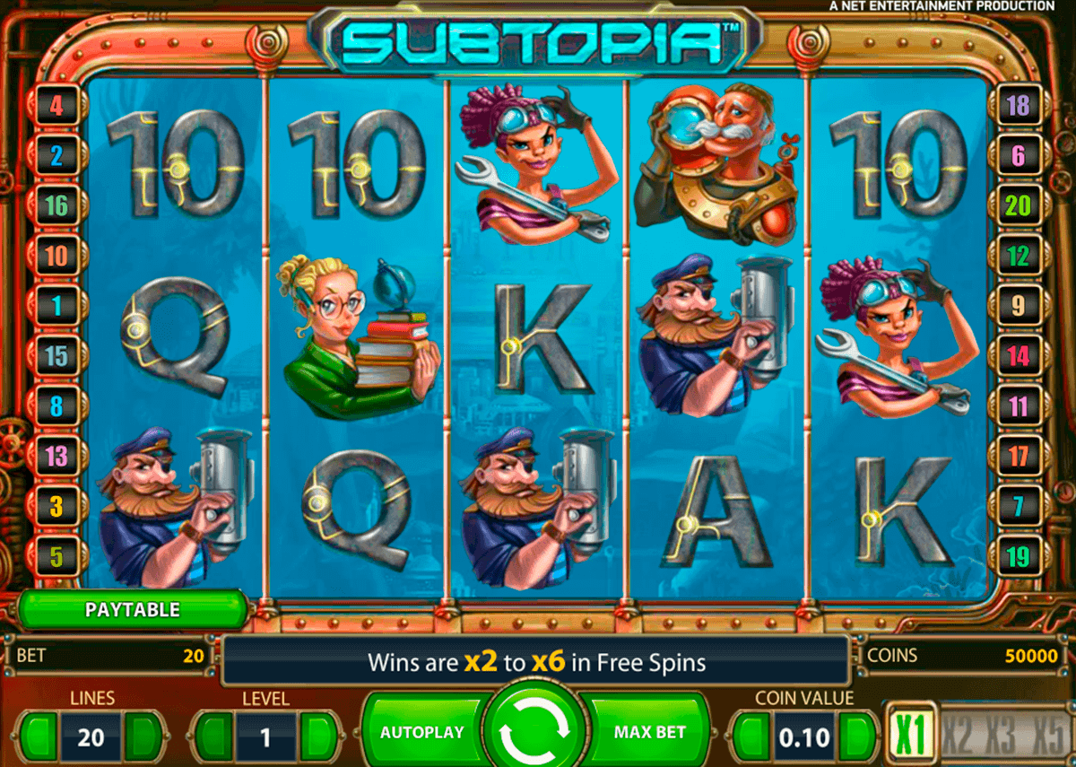 subtopia netent gokkasten