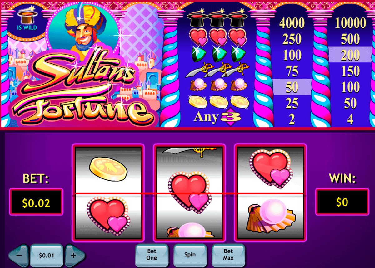 sultans fortune playtech gokkast