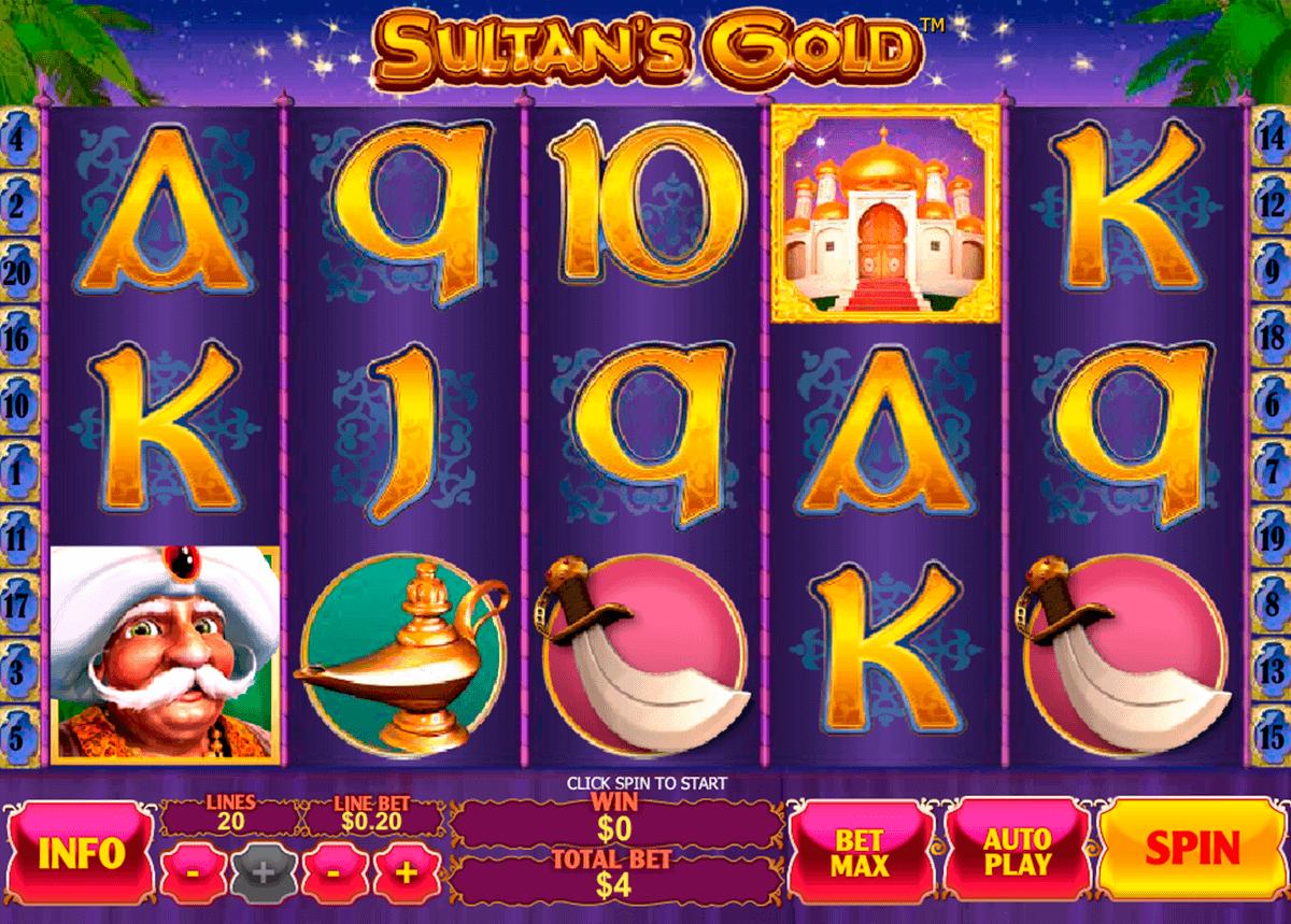 sultans gold playtech gokkast
