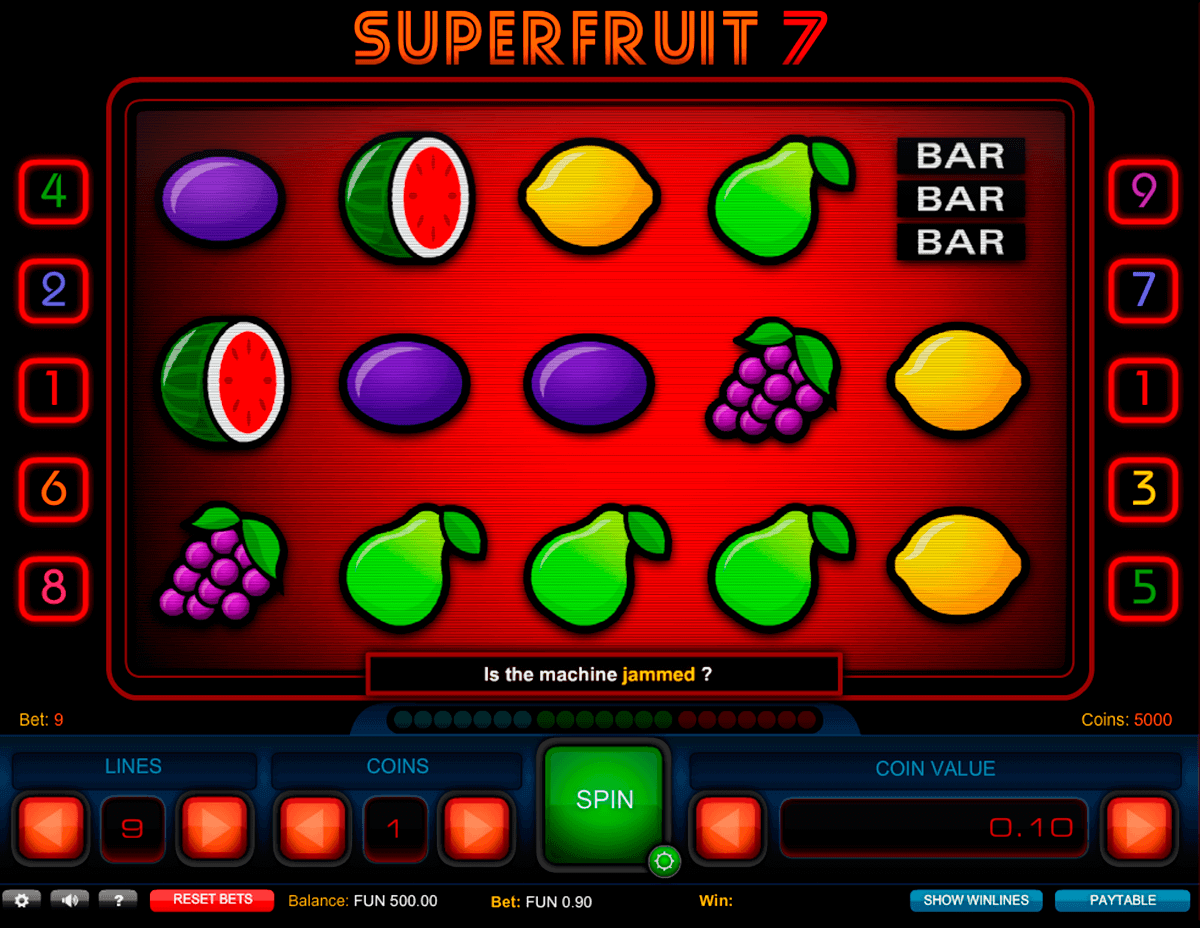 Spiele Electric 7 Fruits - Video Slots Online