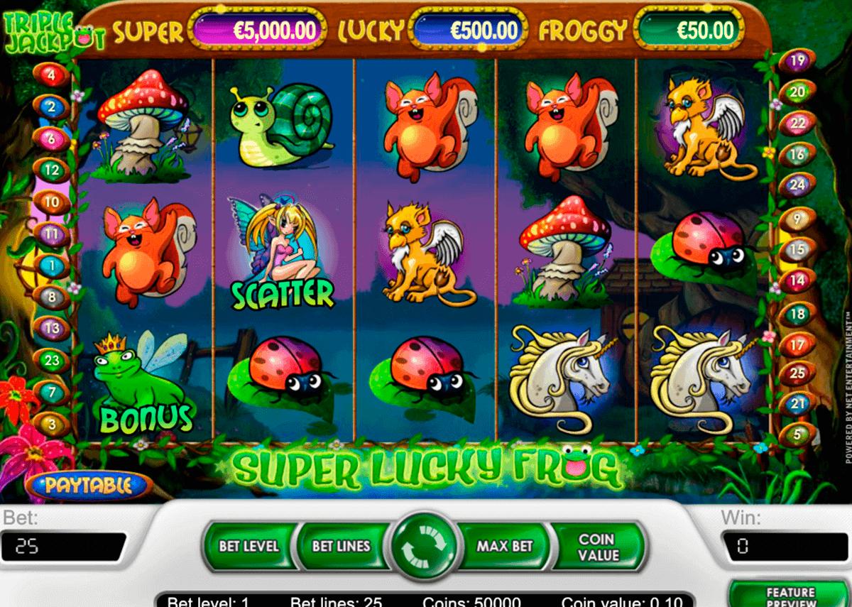 super lucky frog netent gokkasten