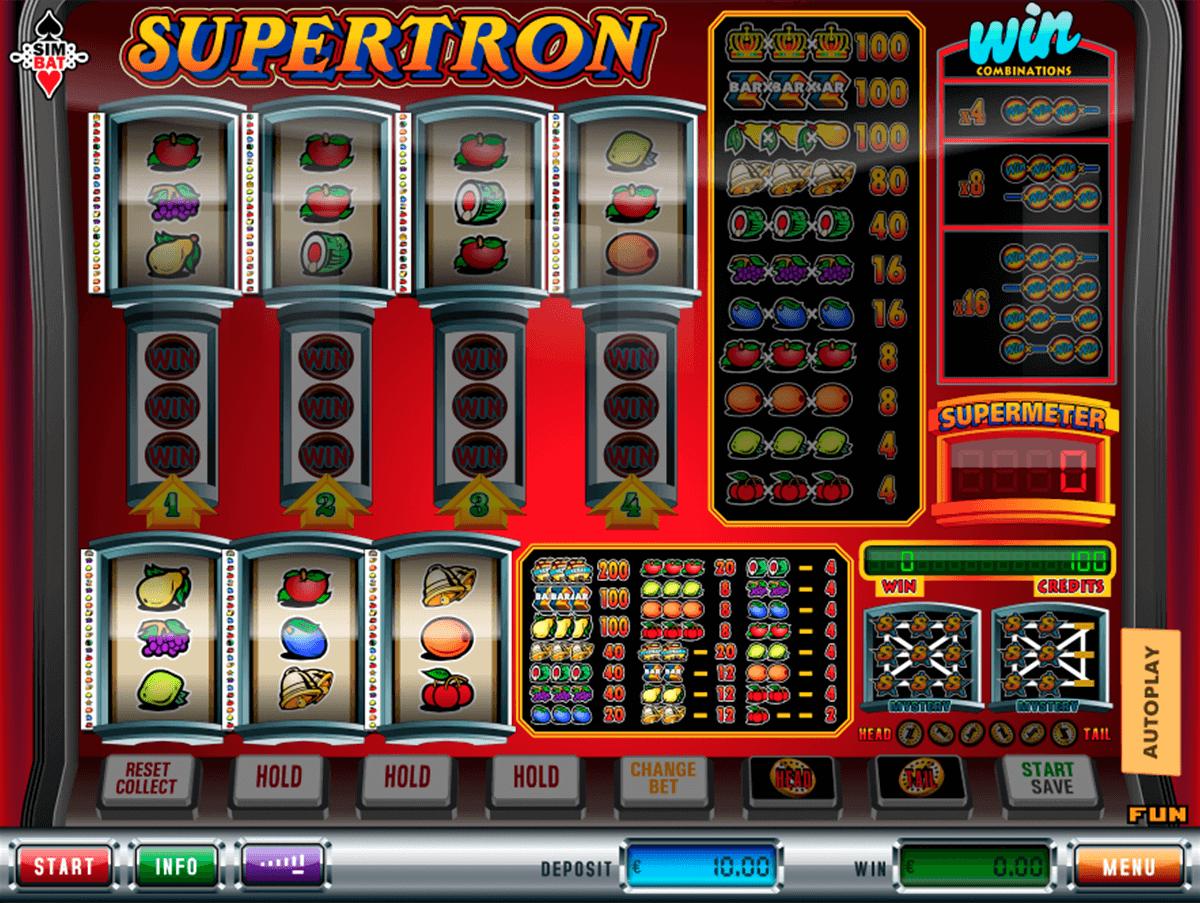 supertron simbat gokkast