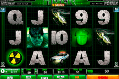 the incredible hulk  lines playtech gokkast