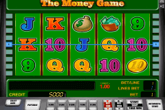 the money game novomatic gokkast