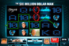 the si million dollar man playtech gokkast