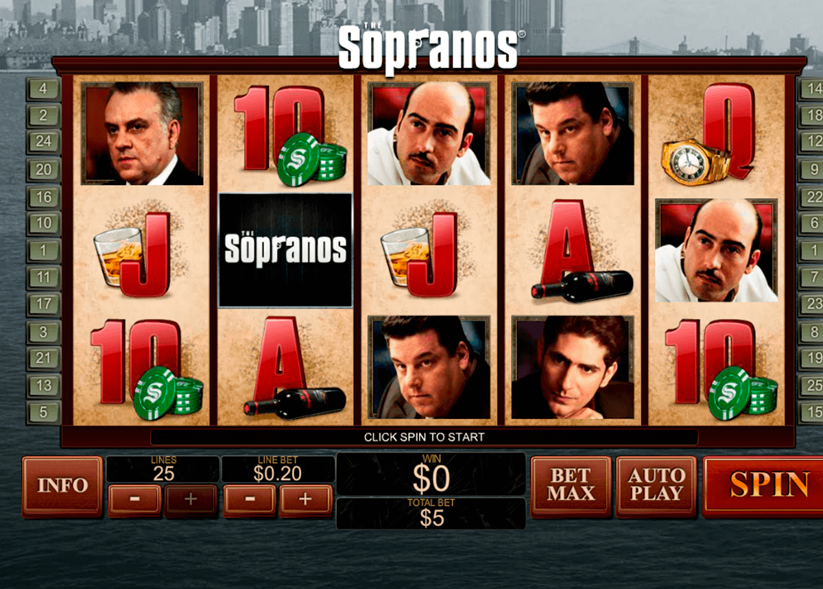 the sopranos playtech gokkast