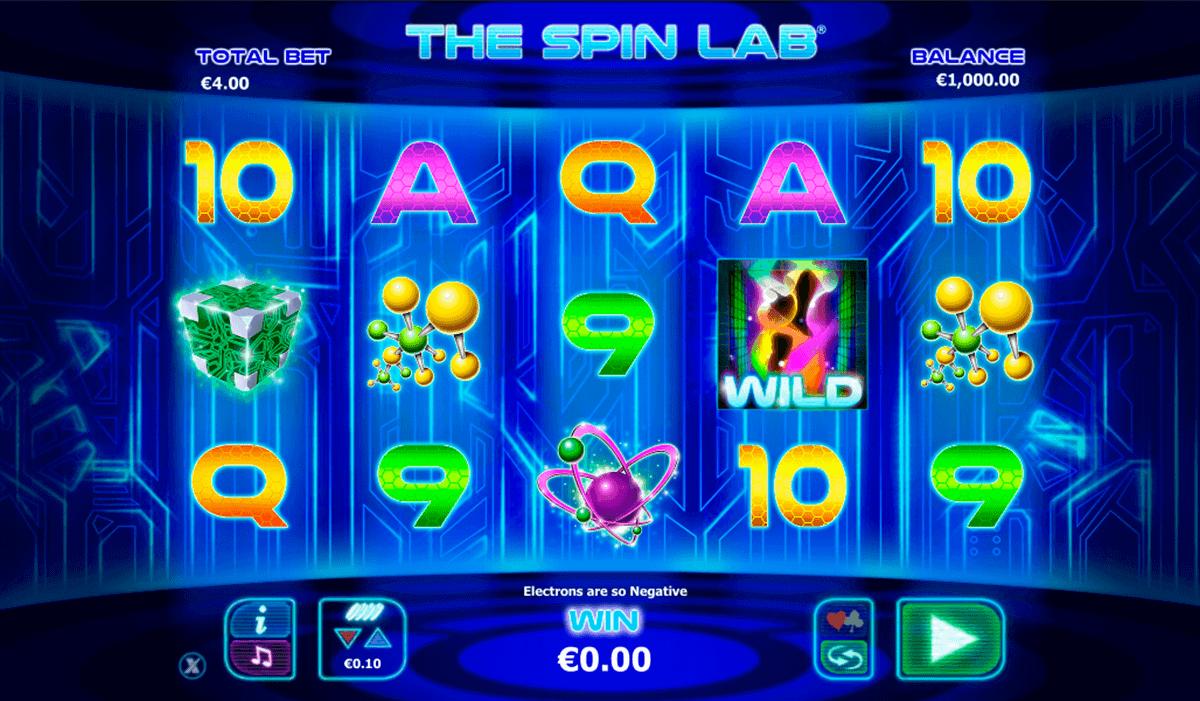 the spin lab nextgen gaming gokkast