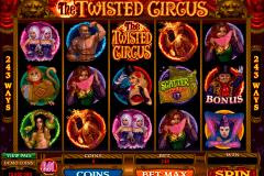 the twisted circus microgaming gokkast