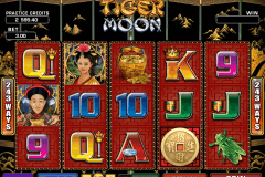 tiger moon microgaming gokkast