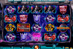 transformers battle for cybertron igt gokkast
