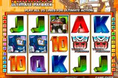 transformers ultimate payback igt gokkast