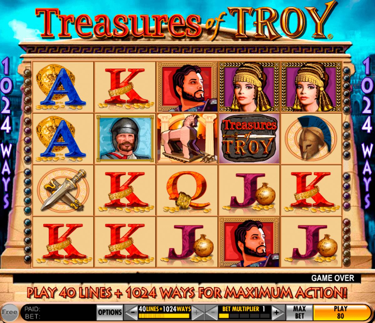 Treasures of troy slot machine online free