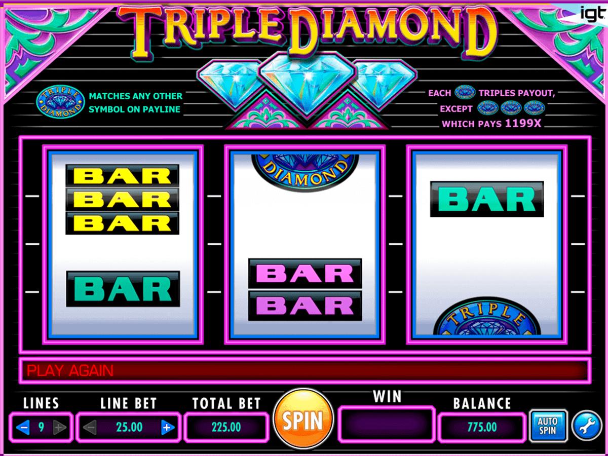 triple diamond igt gokkast