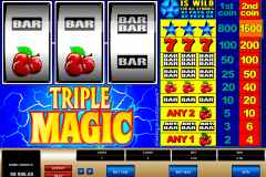 triple magic microgaming gokkast