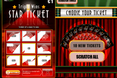 triple wins star ticket netent krasloten