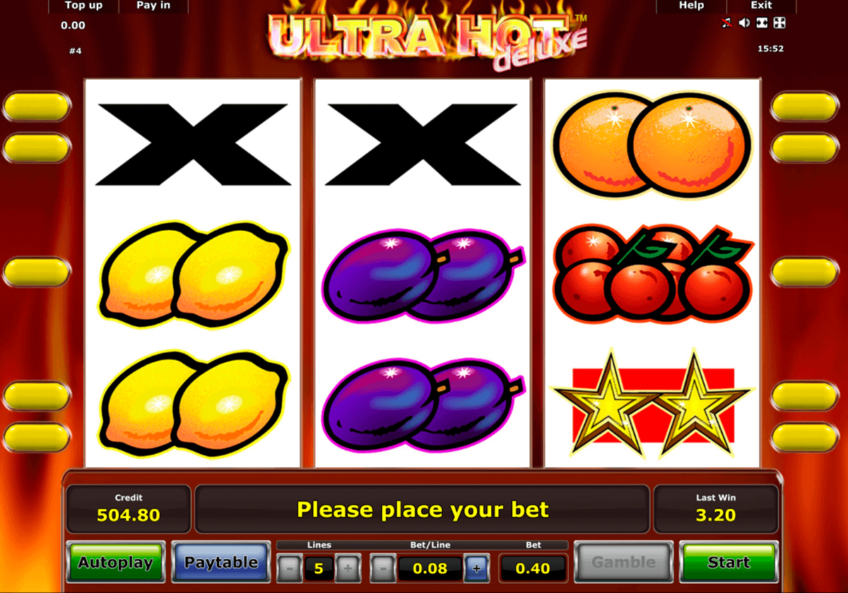 euro casino online ultra hot deluxe