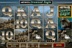 untamed crowned eagle microgaming gokkast