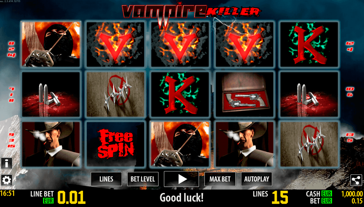 vampire killer hd world match gokkast