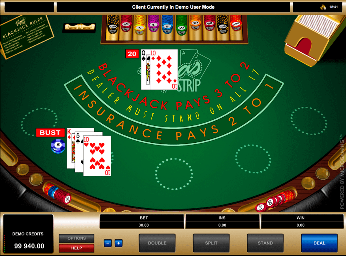 Blackjack Game For Free. No Download Required