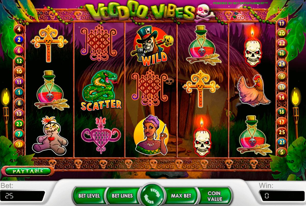 voodoo vibes netent gokkasten