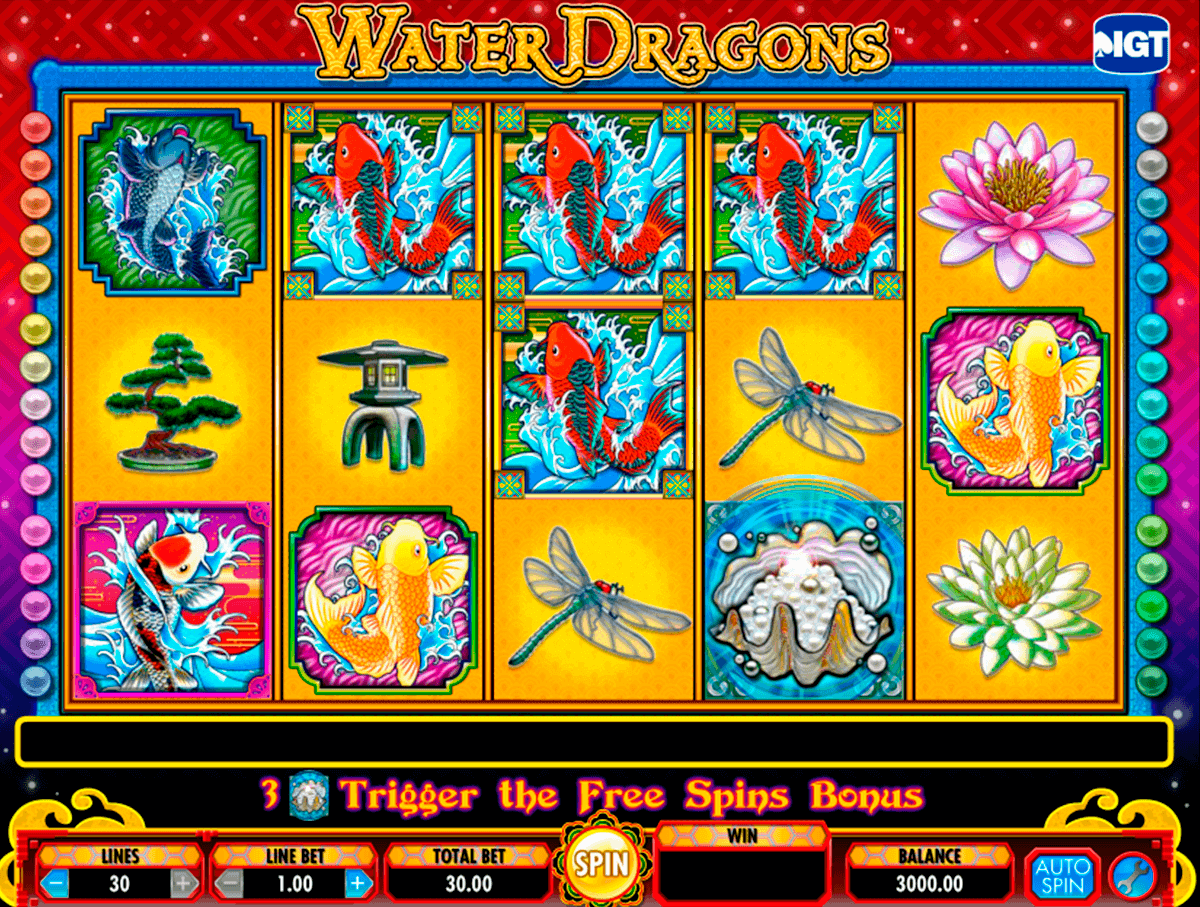 water dragons igt gokkast