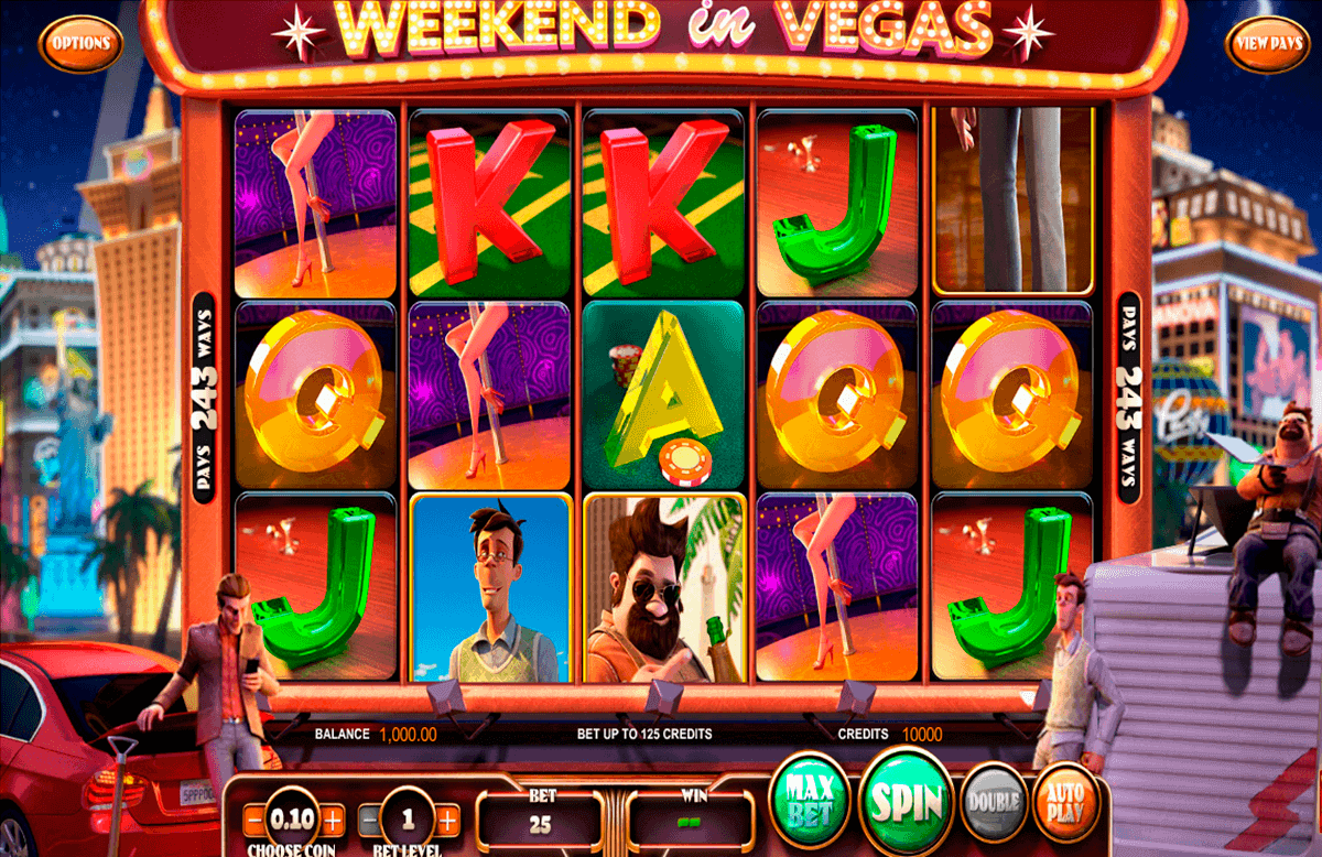 weekend in vegas betsoft gokkasten